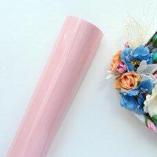 Пленка для термопереноса матовая. Цвет розовый