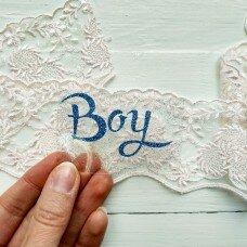 """Надпись из термопленки """"Boy"""""""
