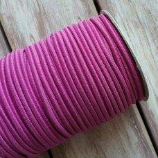 Резинка круглая. Цвет темно-розовый