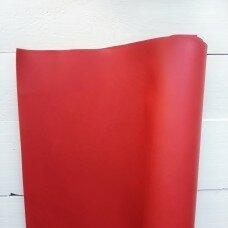Матовый переплетный кожзамениитель. Цвет красный