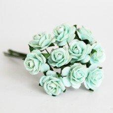 Розы. Цвет мятный. 1,5 см