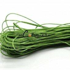 """Вощеный шнур """"Зеленый"""" 5 метров"""