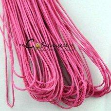 """Вощеный шнур """"Розовый"""" 5 метров"""