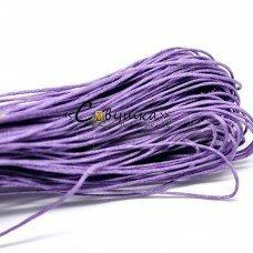 """Вощеный шнур """"Фиолетовый"""" 5 метров"""