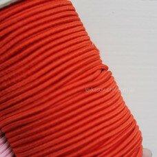 Резинка круглая. Цвет оранжевый