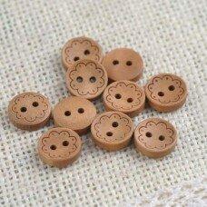 Пуговицы деревянные.