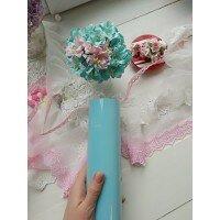 Пленка для термопереноса флок. Цвет Pale blue