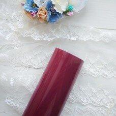 Пленка для термопереноса матовая. Цвет бордо