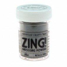 Пудра для горячего эмбоссинга Metallic Silver Zing!