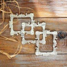 """Деревянная рамка Curiosity Corner """"Газета"""" от Dovecraft"""
