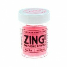 Пудра для эмбоссинга Neon Red Zing!