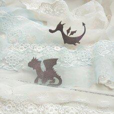 Стикер из термотрансферной пленки Драконы