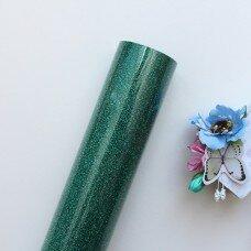 Пленка для термопереноса с глиттером. Цвет Sapphire