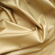 Кожзаменитель. Цвет золото матовое