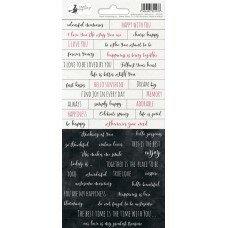 """Лист с наклейками 01 из коллекции """"Hello Beautiful"""""""