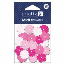 Бумажные цветы Everyday Pinks. Цвет розовый