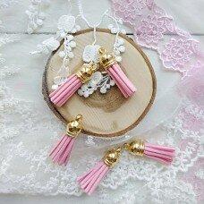 Бархатные кисточки. Цвет розовый